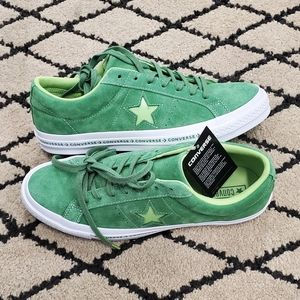 Converse One Star Pinstripe Ox Mint Green Lime